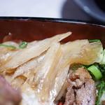 ビフテキ重・肉飯 ロマン亭 - 玉葱