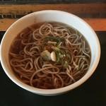(有)高本製麺所 - かけそば(¥290)