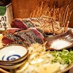 土佐清水ワールド - ☆かつおの藁焼きたたき(特大)1750円