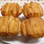 神戸屋 - バターフレーキ4個¥281-