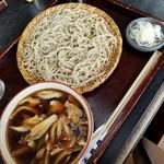 正直庵 - 料理写真:鶏舞茸せいろ 1300円