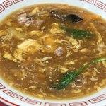 新珍味 - 半ターロー麺(700円)