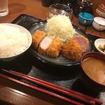 豚八堂 - 塩麹トンカツ&ヒレカツコンビ 1500円