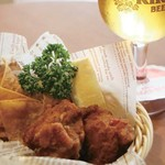 キリンシティプラス - 【昼ビア部】チキンバスケットとビール1杯