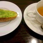 グラッツェ ミーレ - サラダパスタランチ パンとスープ