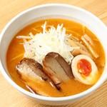 北海道らーめん さつほろ - 料理写真:本場札幌の味!味噌ラーメン