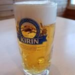 ONSEN食堂 - ビール 500円