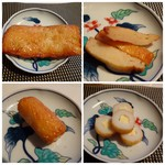 かま栄 - ◆味噌南蛮・・少しピリ辛感を感じます。 ◆チーズちくわ・・ツマミに最適。
