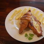 クロワッサンCafe クイニー - クロワッサンフレンチトースト