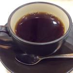 喫茶ヤナギ - 「コーヒー」(モーニング時には280円)。