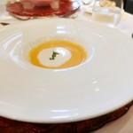 77274114 - スープ:京人参のクリームスープ