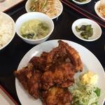 福香亭  - 料理写真:Aランチ(唐揚げ定食)
