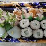 フードオアシスあつみ - 料理写真:イカ尽くしの寿司 税込538円