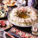 肉と日本酒 ゴッツジェイズ - tukiコース