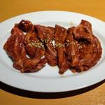 ギュウガテイ - 和牛ホホ肉 650円