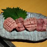 ギュウガテイ - 料理写真:国内産厚切りタン 1680円