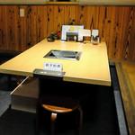 ギュウガテイ - テーブル席