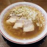 きたかた食堂 - 醤油ラーメン(すっきり)