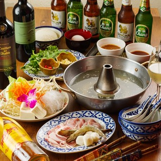 忘年会は、タイの鍋「タイスキ」を食べよう!