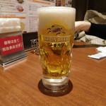 ミアボッカ - 生ビール