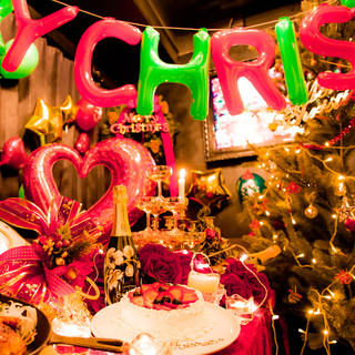 【クリスマス装飾】クリスマスなどや各種パーティーにオススメ♪