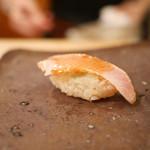 鮨まつもと - 炙り漬け鰤
