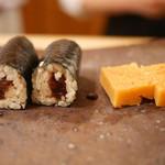 鮨まつもと - 干瓢巻、玉