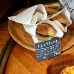 パンストック - 【店内】お腹に余裕があれば食べてみたかったサンド