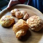 パンストック - 今回買ったパン