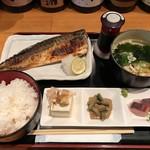 77289663 - ◇1回目◇日替わり旬の焼魚定食@850円