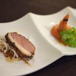 陳餐閣 - ランチ前菜
