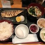77290203 - ◇2回目◇日替わり旬の焼魚定食@850円
