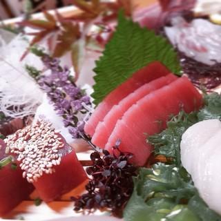 羽田空港から届く鮮度抜群、鮮魚の刺身!