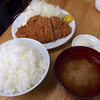 とんかつ いちよし - 料理写真:上ロースカツ定食(1100円)