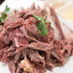 味坊 - 2017.11 手把肉(1,800円)骨付き羊背肉の塩煮