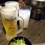 味覚館 - ビールとお通し
