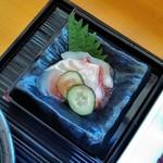 美先 - [料理] 平目 & 蛸 梅酢和え