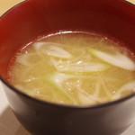 鮨 福原 - 味噌汁