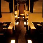 熊野地鶏みえじん - おしゃれなボックス席でゆったりと語らう!