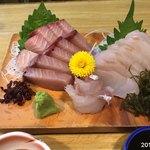 いなほ - 佐渡産寒ブリと真鱈の昆布締め