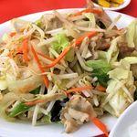 鶴廣 - 鶴廣(肉野菜イタメ アップ)