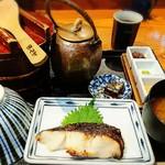 おひつ膳 田んぼ - 銀だら醤油粕漬けおひつ膳     ¥1650