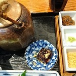 おひつ膳 田んぼ - お茶漬け薬味