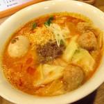 中華そば 大賀110 - 料理写真:ワンタン担担麺 味玉