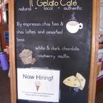 IL Gelato Cafe - 店舗前の看板