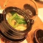 和どころ拓 - 松茸と鱧の土瓶蒸し