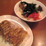 らー麺藤平 - 餃子