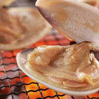 青木鮮魚店 - 名物・焼きはまぐり!この大きさでこの値段で食べられるのはここだけ!!