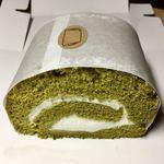ROLL - 料理写真:抹茶ロールケーキ