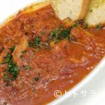 ブラカリ - カラブリア風トリッパ(ハチノス)の辛いトマト煮込み